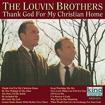 Louvin Brothers - Thank God for My Christian Home [CD] USA import