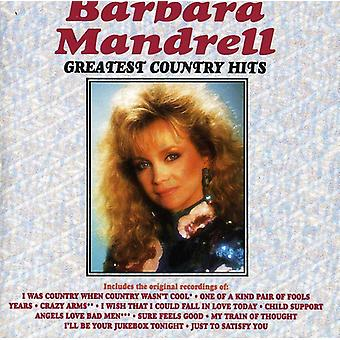 Barbara Mandrell - importación de Estados Unidos país Greatest Hits [CD]
