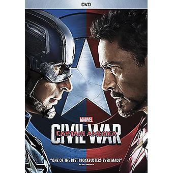 Marvel's Captain America: Civil War [DVD] USA import