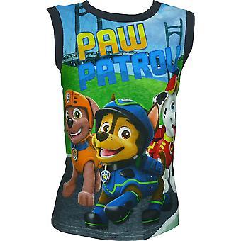 Boys Paw Patrol Sleeveless T-Shirt