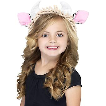 Cow ears on headband