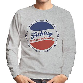 Kühl und erfrischend Pepsi-Logo Herren Sweatshirt Angeln