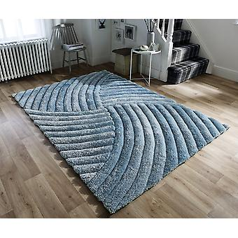 Verge Furrow Duck Egg  Rectangle Rugs Plain/Nearly Plain Rugs
