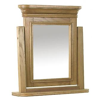 Classic Loire Oak Dressing Table Swing Mirror