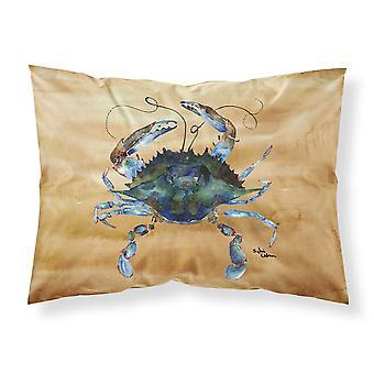 Carolines Treasures  8159PILLOWCASE Crab Moisture wicking Fabric standard pillow