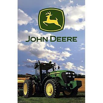 John Deere - Logo 2014 Plakat Poster Print