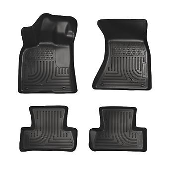 Husky Liners Front & 2nd Seat Floor Liners Fits 11-18 300/Charger AWD