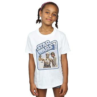 Star Wars Girls Luke Skywalker And C-3PO T-Shirt