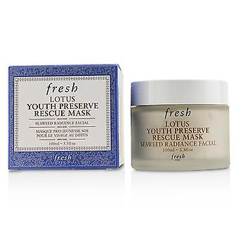 Fresh Lotus Youth Preserve Rescue Mask - 100ml/3.3oz