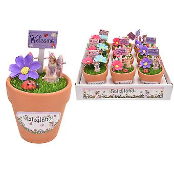 Fairyland Fairy Set In Plant Pot Play set