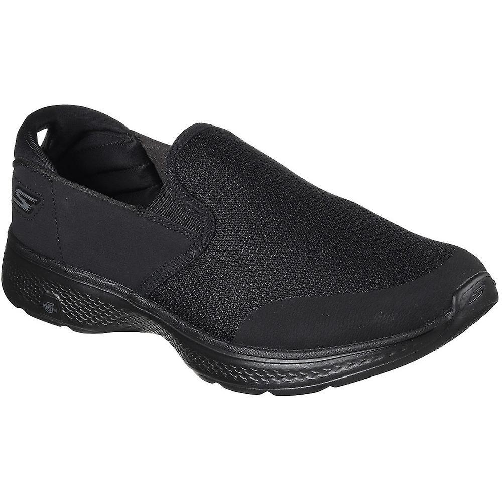 Skechers Herren GOwalk 4 enthalten gepolsterte Slip auf lockere Trainer Schuhe
