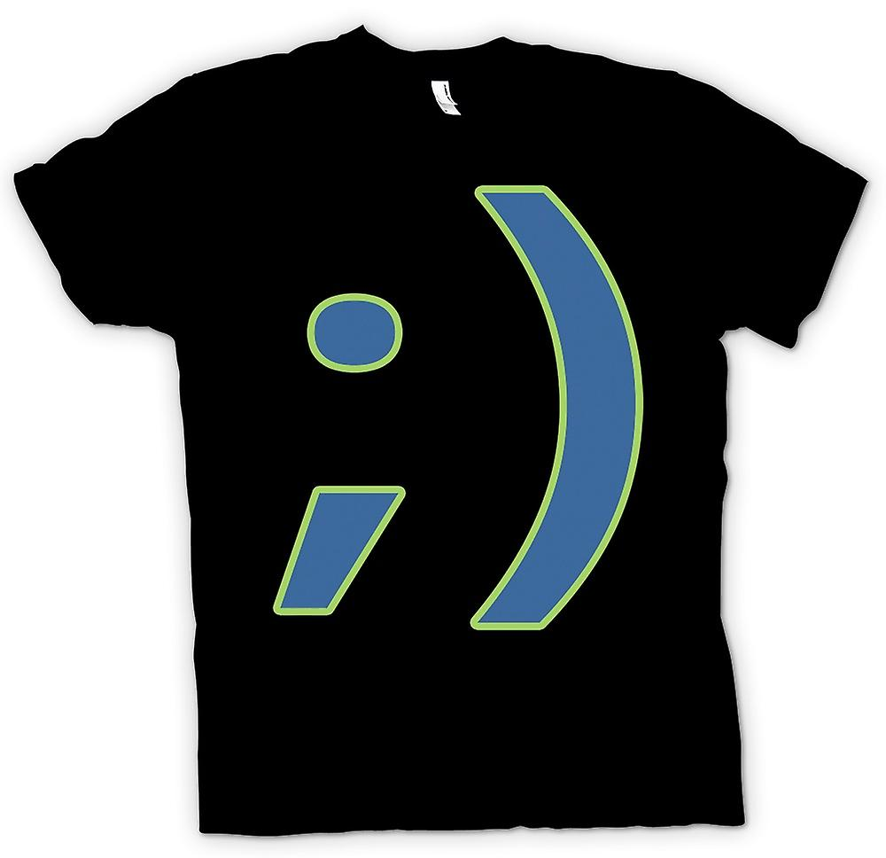 Kinder T-shirt - Smiley - lustig
