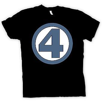 レディース t シャツ - 素晴らしい 4 ロゴ - スーパー ヒーロー