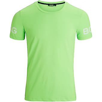 Bjorn Borg Hydro Pro Active T-Shirt, Green Gecko