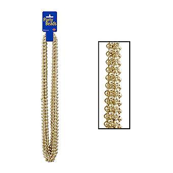 Metallisches Gold-Party-Perlen
