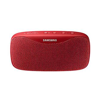 Samsung Level Box Slim EO-SG930 mobiler Bluetooth Lautsprecher Sound Box Rot