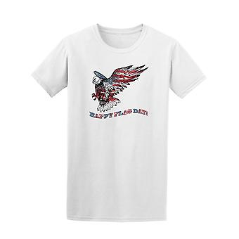 Happy Flag Day American Eagle Tee Men's -Image by Shutterstock
