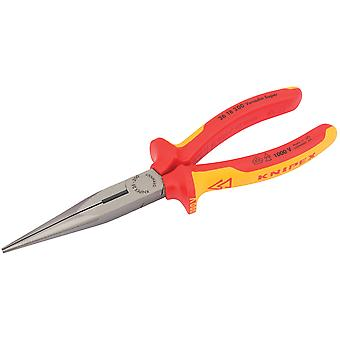 Knipex 32012 200mm VDE Fully Insulated Long Nose Pliers