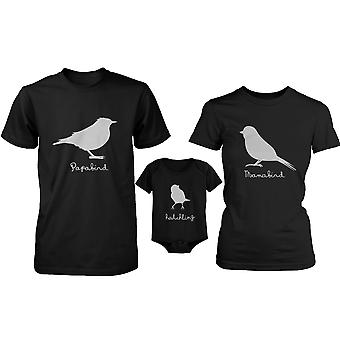 Bird Family Family Matching Shirts and Bodysuit