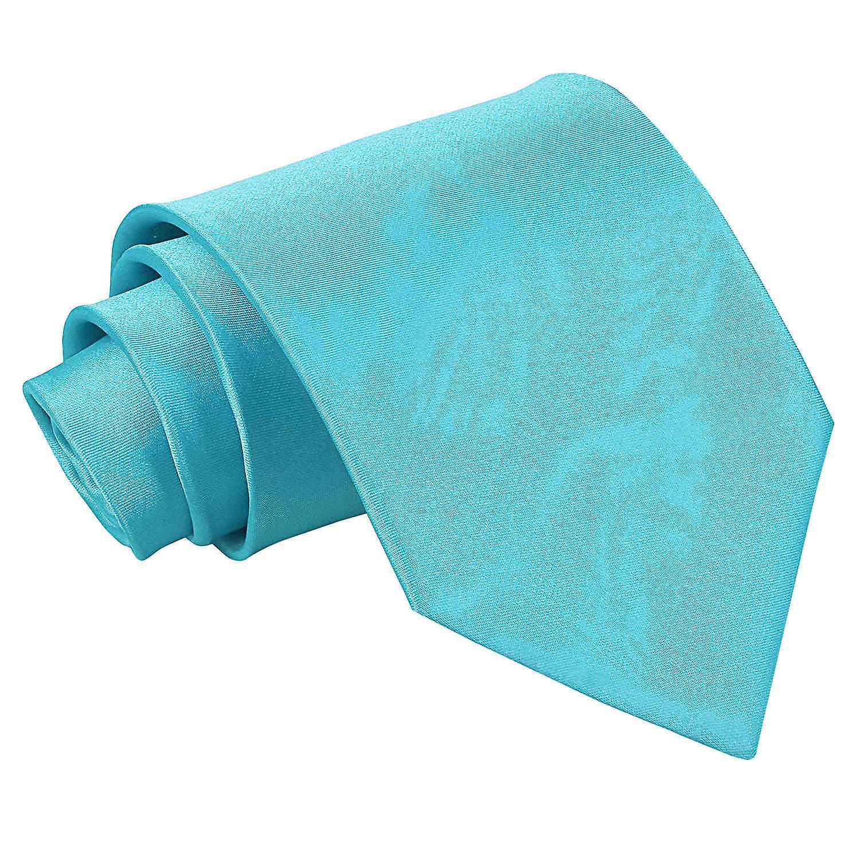 Robin's Egg Blue Plain Satin Classic Tie