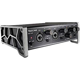 preamplificatore microfonico 2 canali Tascam US - 2 x 2