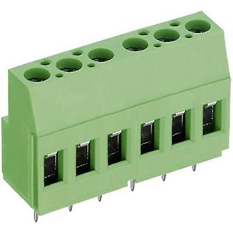 PTR AKZ700/10-5.08-V Screw terminal 2.50 mm² Number of pins 10 Green 1 pc(s)