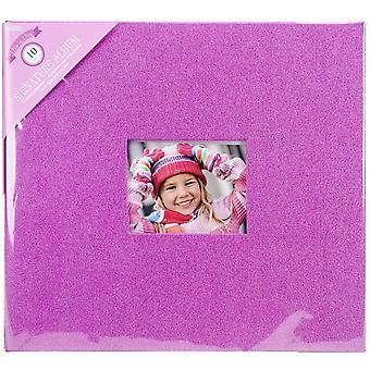 Colorbok Post Bound Glitter Album 12