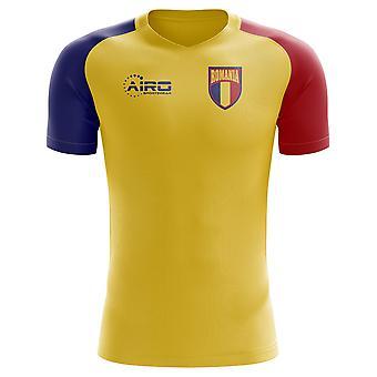 2018-2019 رومانيا مفهوم الوطن القميص لكرة القدم