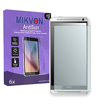 HTC 809d Screen Protector - Mikvon AntiSun (Retail Package with accessories)