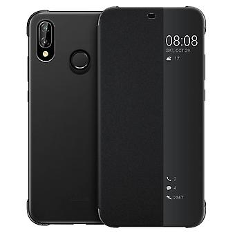 Official Huawei Smart View flip case for Huawei P20 Lite - Black