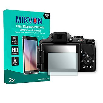 Nikon COOLPIX P520 Screen Protector - Mikvon Clear (Retail Package with accessories)