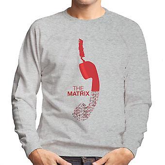Die Matrix MinimalMen Sweatshirt