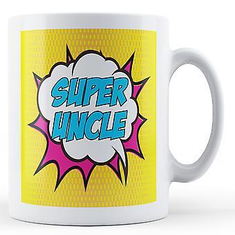 Super tío Pop Art inspirado en taza - taza impresa