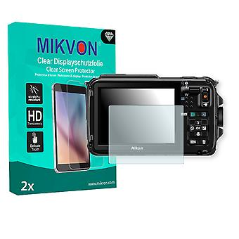 Nikon COOLPIX AW110s Screen Protector - Mikvon Clear (Retail Package with accessories)