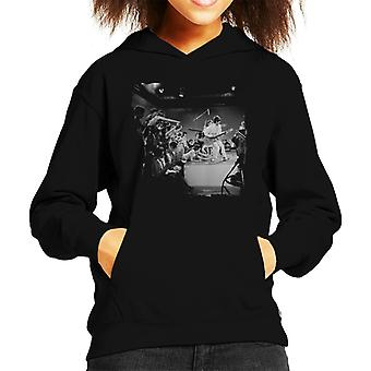 TV Times Small Faces Live 1966 Kid's Hooded Sweatshirt