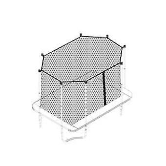 Alert Springmat voor Trampoline Zwart 244 cm