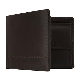 TOM TAILOR KAI men's purse wallet purse with RFID protection Brown 7642