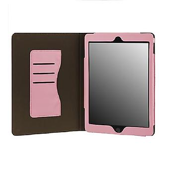 IPhone iPad Air 2 card holder sleep/wake & support function PINK