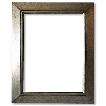деревянная рамка 15 x 30 см, серебро