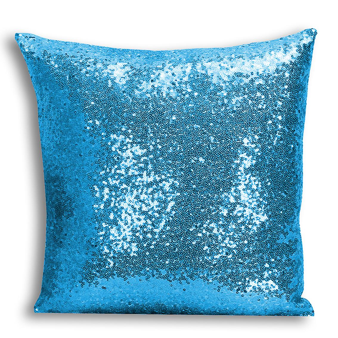 Home Design With For Inserted I tronixsUnicorn Cover 15 CushionPillow Printed Decor Blue Sequin PXn80wkO