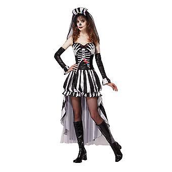 Skeleton King/Queen Kostüm, Day of the Dead