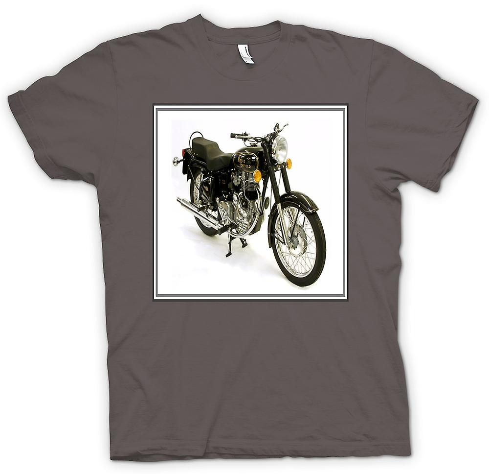 Herren T-Shirt - Royal Enfield Bullet - Classic Bike