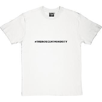 #indecentminority mannen T-Shirt