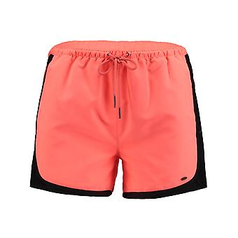 ONeill Neon Orange Rosa Vögel Womens Shorts
