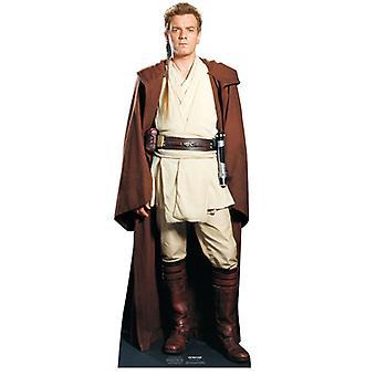 Obi-Wan Kenobi - Star Wars Lifesize Karton Ausschnitt / f (Ewan McGregor)