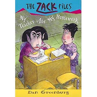 My Teacher Ate My Homework (Zack Files)