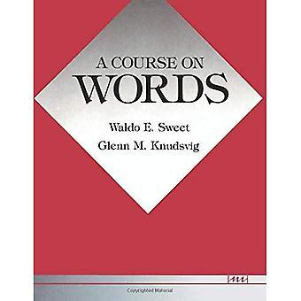 Un cours sur les mots