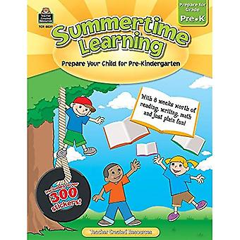 Summertime Learning, Prepare for Grade Pre-K