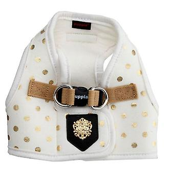 Puppia Modern Dotty Harness B White (Dogs , Collars, Leads and Harnesses , Harnesses)