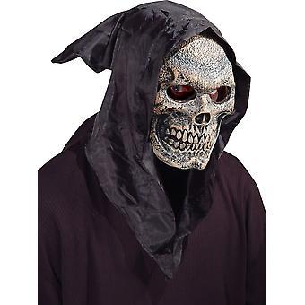 スカル フード付きマスク